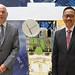 VP Susantono discusses ADB's partnerships with European Space Agency, IFAD