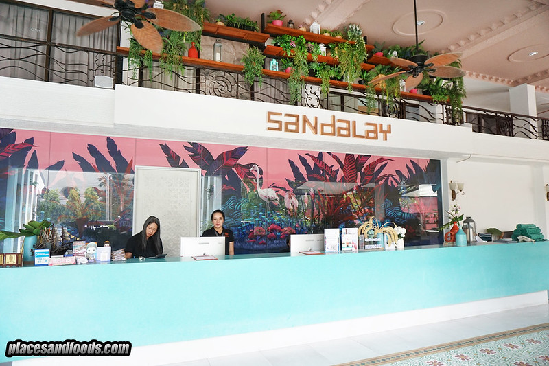 sandalay pattaya resort lobby