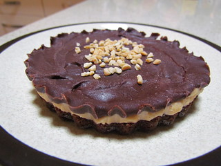 Chocolate Peanut Butter Tartlets