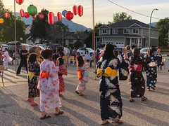 Dancing at Obon