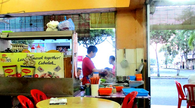 e-cafe kampua mee stall