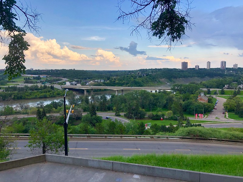Edmonton is nothing of not beautiful