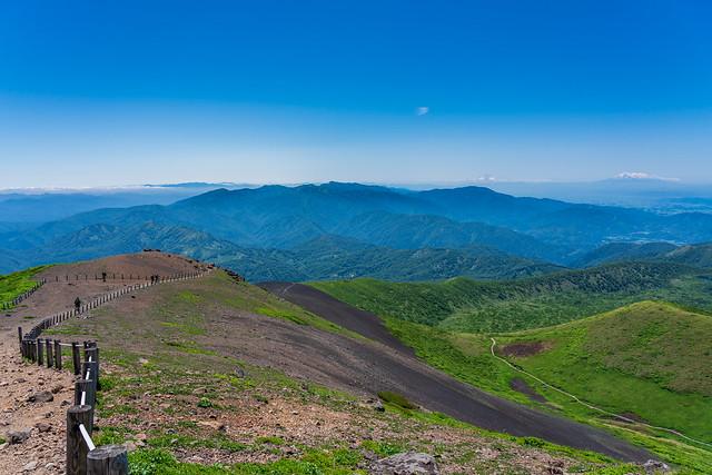 焼石岳、栗駒山、和賀岳・・・鳥海山