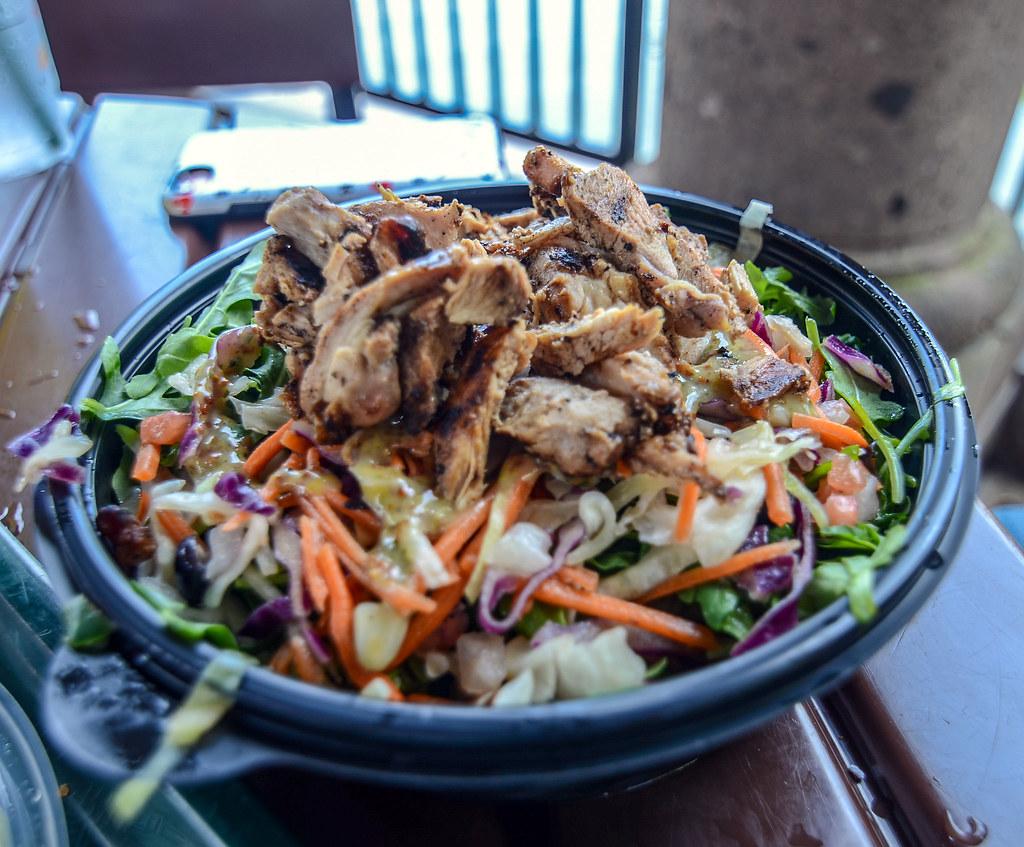 La Cantina de San Angel salad Epcot