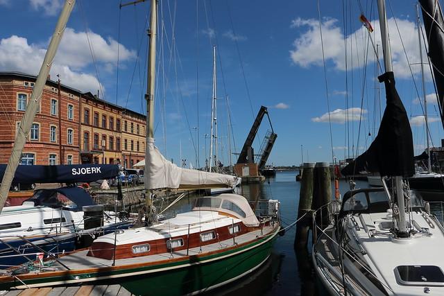 Stralsund, Hafen, Am Querkanal