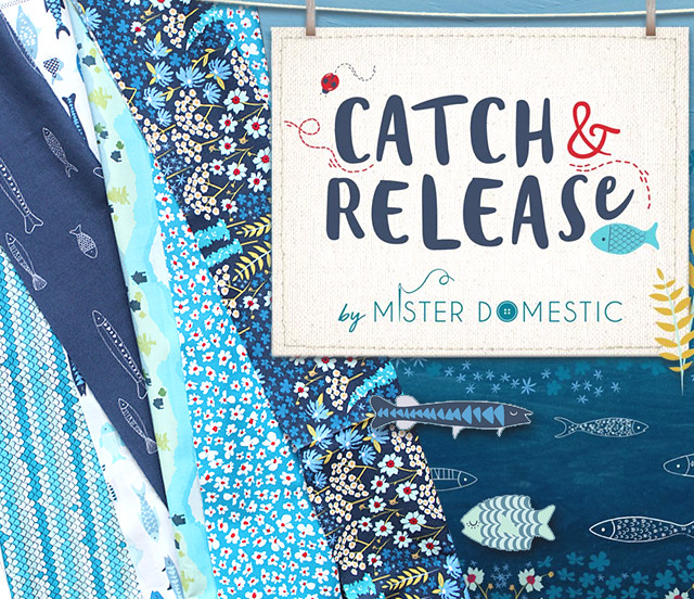 Art Gallery Fabrics Catch & Release Collection by Mister Domestic
