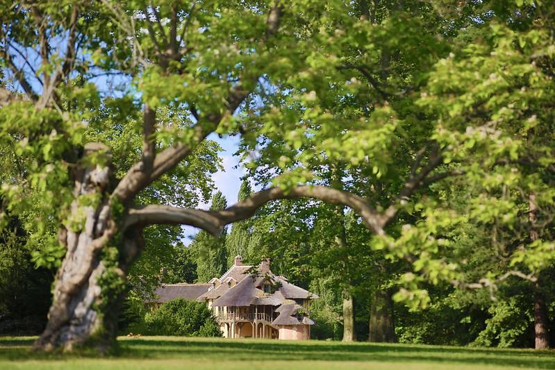 Le hameau de la Reine, parc du château de Versailles