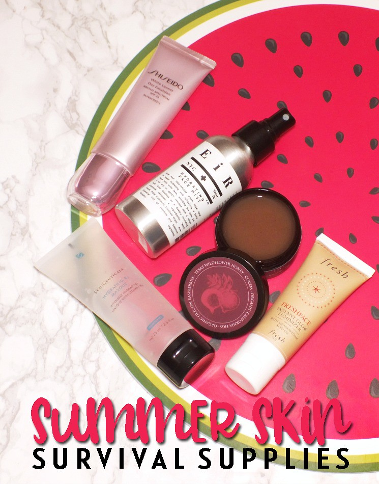 summer skin survival supplies