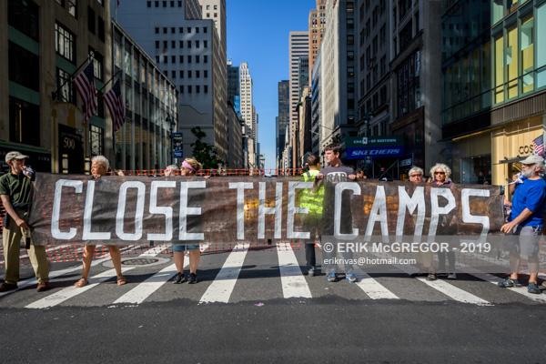 Abolish ICE Protest Halts Traffic in NYC