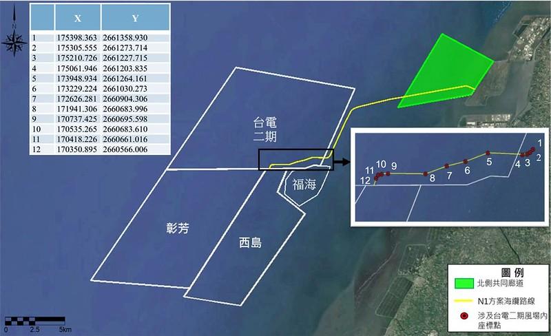 環保署進行CIP彰化西島、彰芳離岸風電變更環差案。孫文臨攝