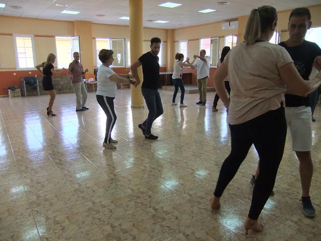 Clausura baile en Algorfa