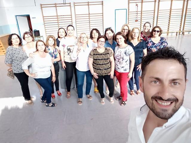 Clausura curso baile en Benferri y Bigastro