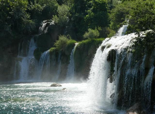 Krka parco naturalistico in alta Croazia