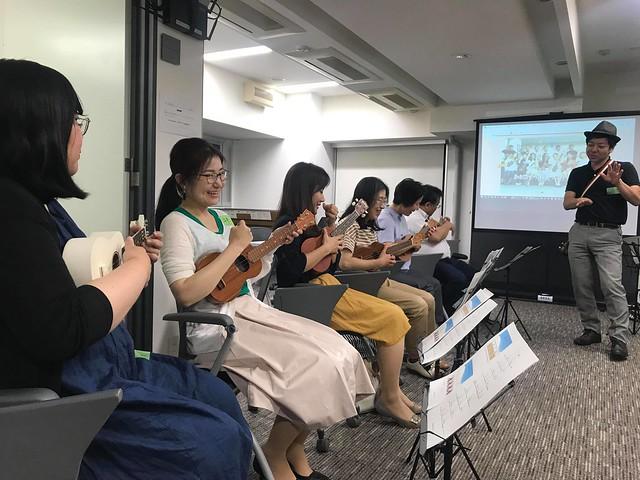 TUS 2時間でウクレレマスター♪ 2019.07.10