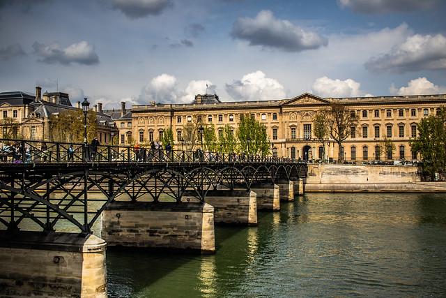 Pont des Arts - La Seine, Paris