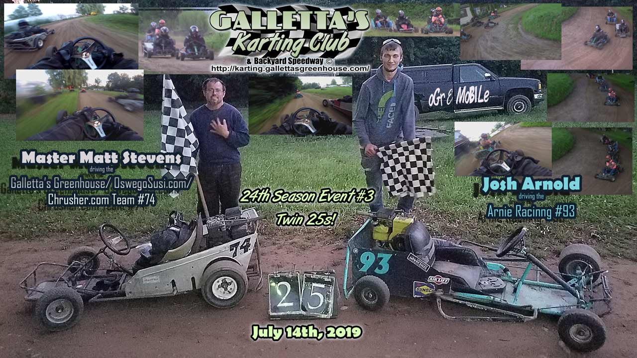 20190714_210720 Galletta's Karting - Matt Stevens and Josh Arnold win!