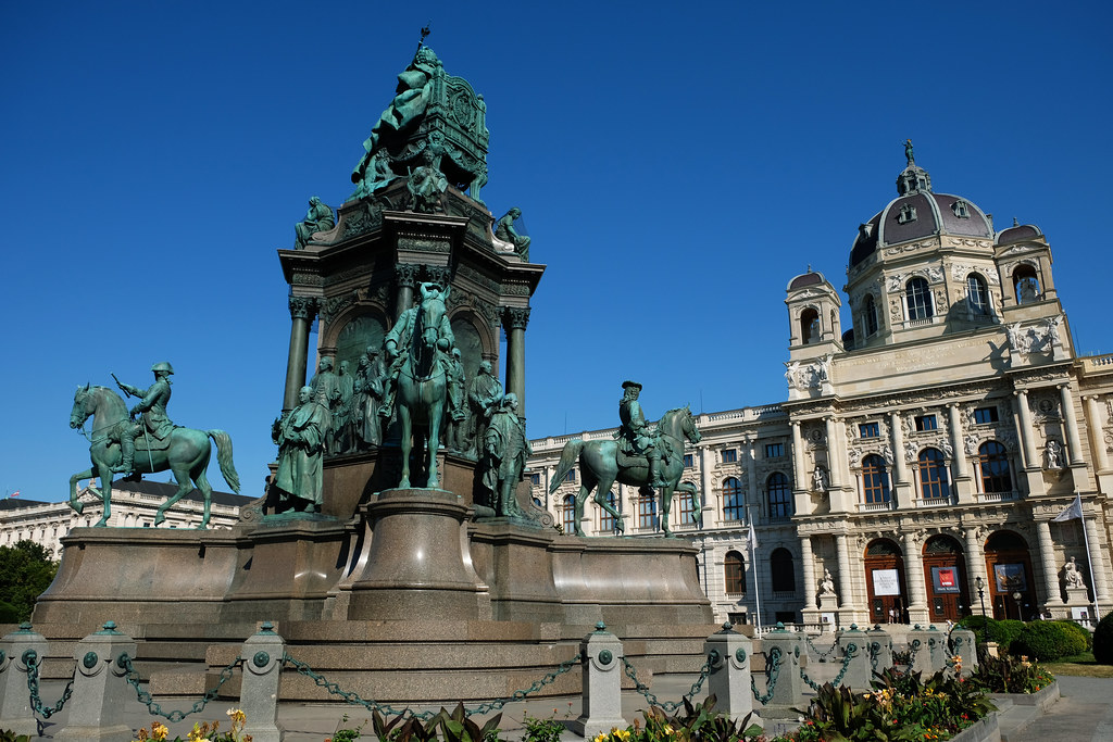 Statue of Maria Theresa in Vienna, Austria