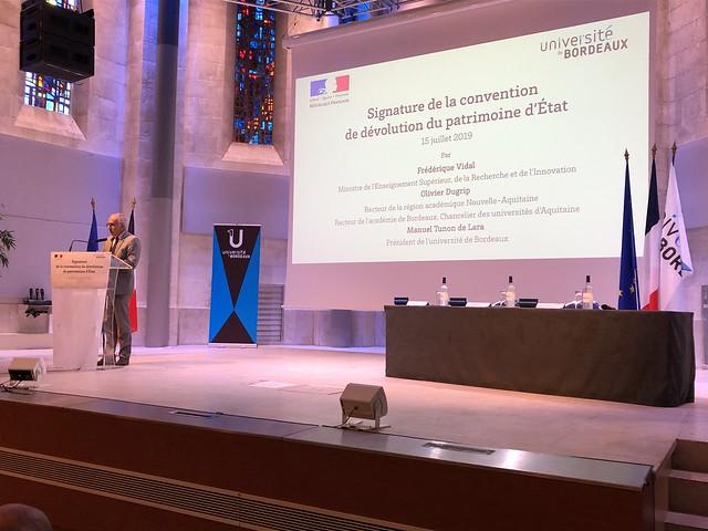 L'Université de Bordeaux devient propriétaire de son patrimoine immobilier