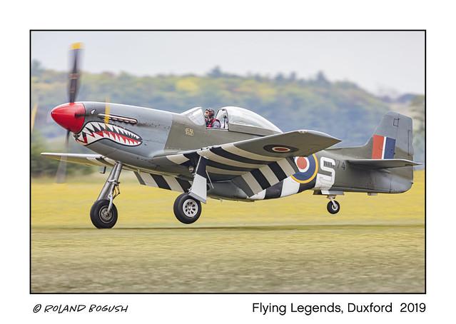 Touchdown - Mustang landing