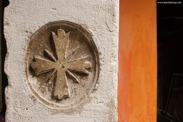 Simbolo templare in Sant'Aponal