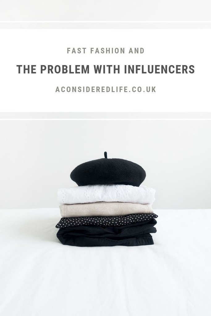 Fast Fashion and the Responsibility of Influencers