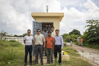 Automatic Hydrological Station, Cambodia