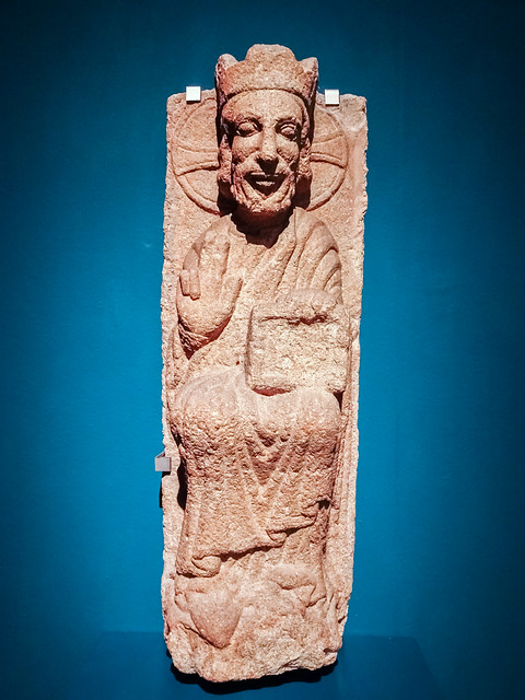 bajorrelieve exposicion Edad Media del British Museum en Caixa Forum Madrid 02