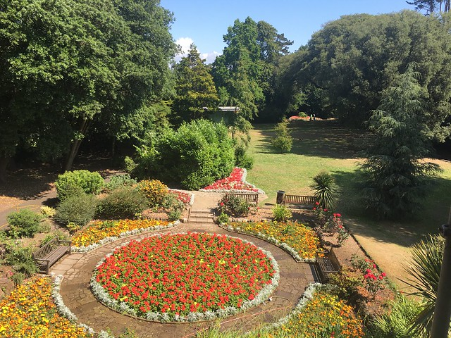2019 07 16 A beautiful day in Rylstone Gardens Shanklin on the IoW