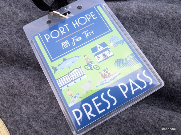 2019 Port Hope press pass
