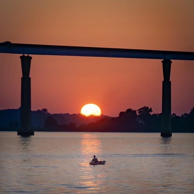 Sunset Kayaking on the Patuxent