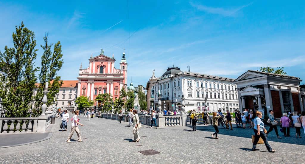 Zomer in Ljubljana, Slovenië (foto met dank aan Blaž Pogačnik) | Mooistestedentrips.nl