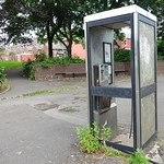 How much longer is this phone booth going to be like this?