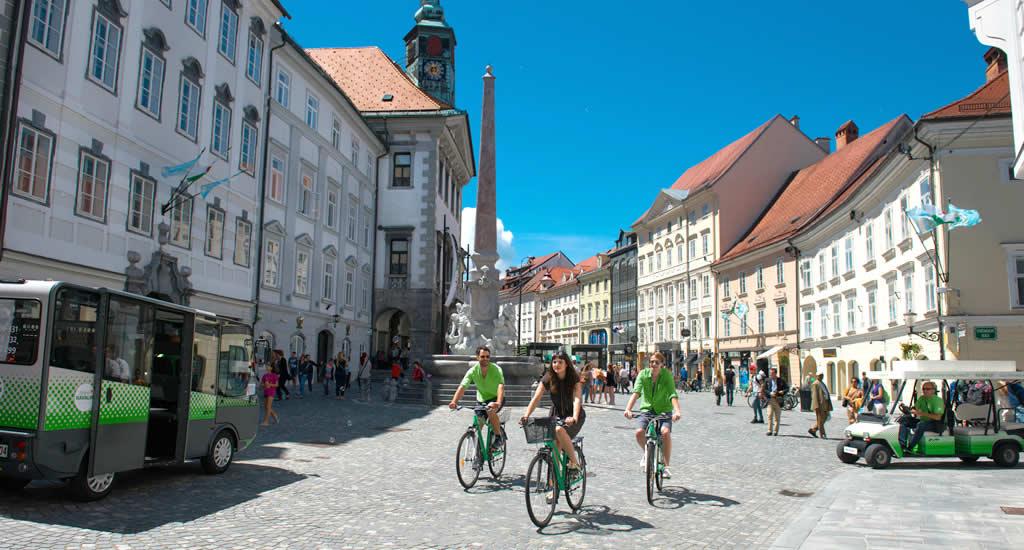 Fietsen in Ljubljana | Mooistestedentrips.nl
