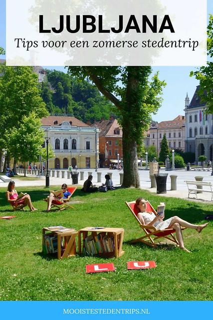 Zomer in Ljubljana, tips voor een zomerse stedentrip (foto door: Nea Culpa) | Mooistestedentrips.nl