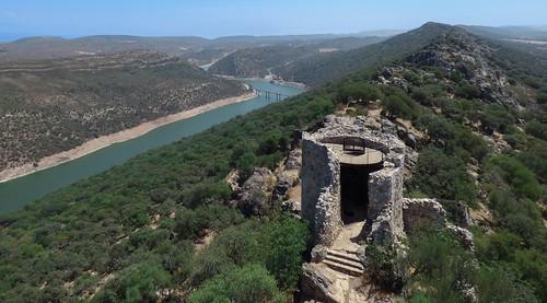 Torre del Castillo P. N. de Monfragüe.