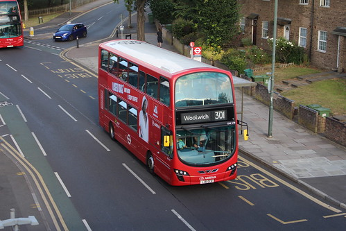 Arriva London DW478 on Route 301, Abbey Wood