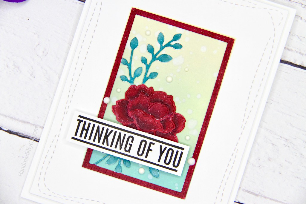 SSS Thinkin of you card closeup