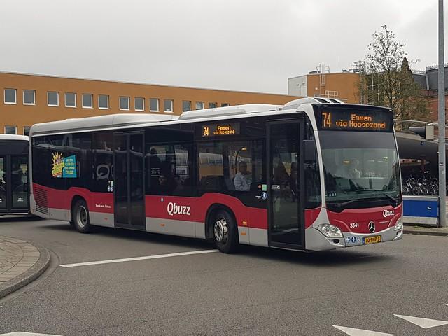 NLD Qbuzz 3341 ● Groningen Busstation