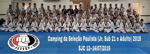 2° TRAINING CAMPING DA SELECAO PAULISTA 2019