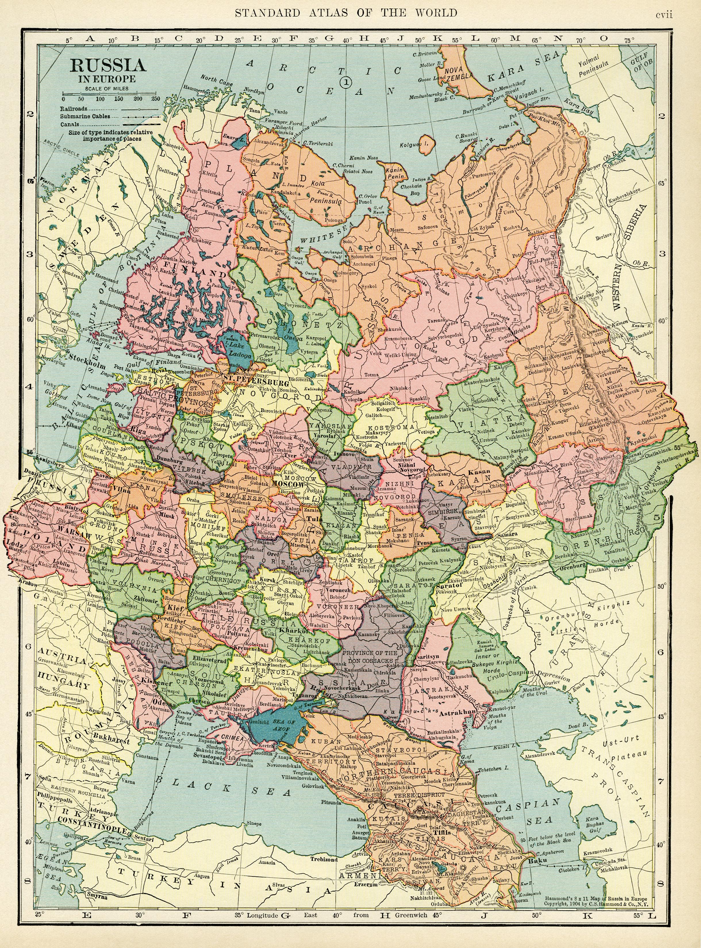 MapRussia-europe