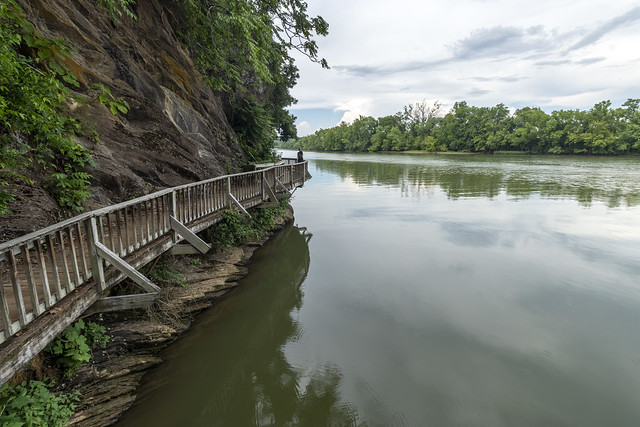 Boardwalk, Tennessee River, Ijams Nature Center, Knox County, Tennessee 1