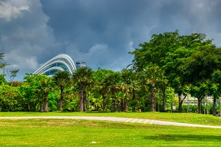 Gardens by the Bay with Cloud Forest conservatory in Singapore | by UweBKK (α 77 on )