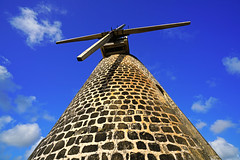 The old sugar mill, Betty's Hope, Antigua