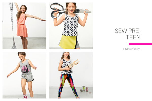 Sew Pre-Teen Collection