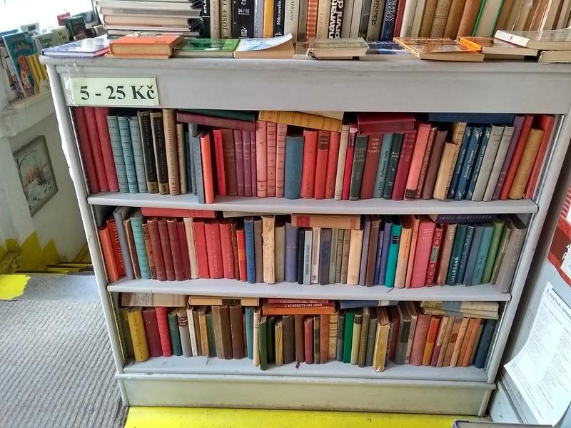 Librería de viejo en Praga