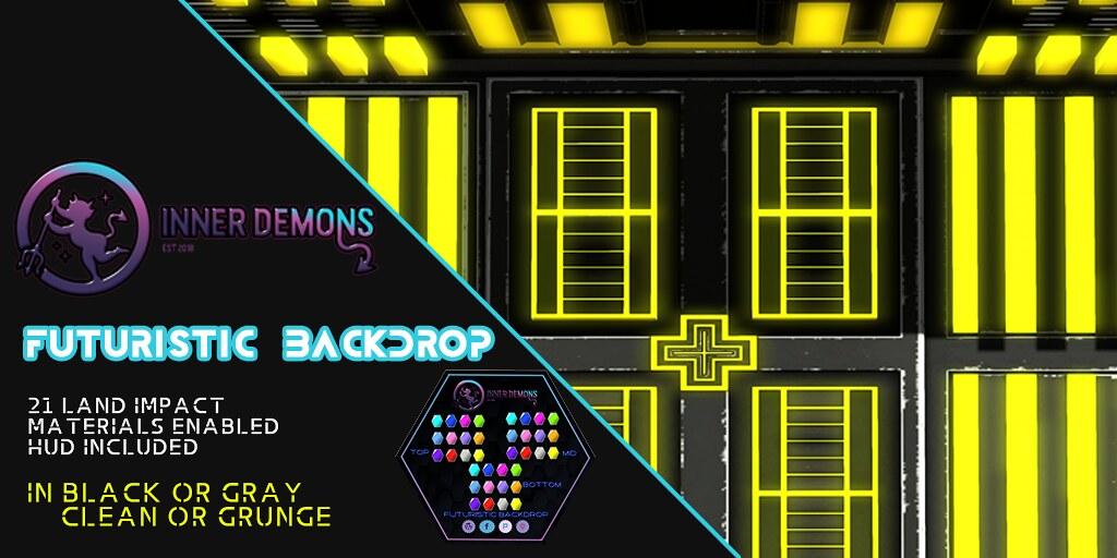 {ID} Futuristic Backdrop - TeleportHub.com Live!