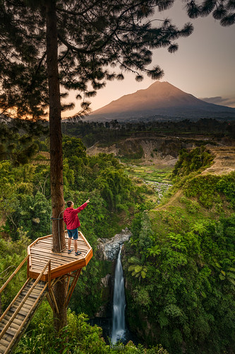 Self Portrait at Kedung Kayang Waterfall | by tehhanlin