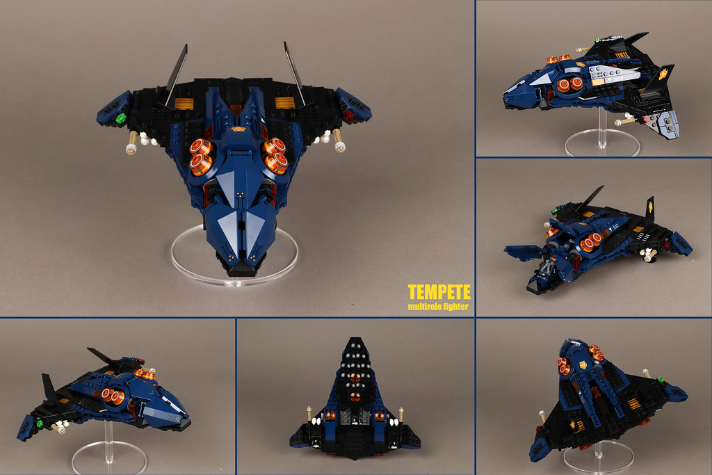 """TEMPETE"" Multirole fighter"