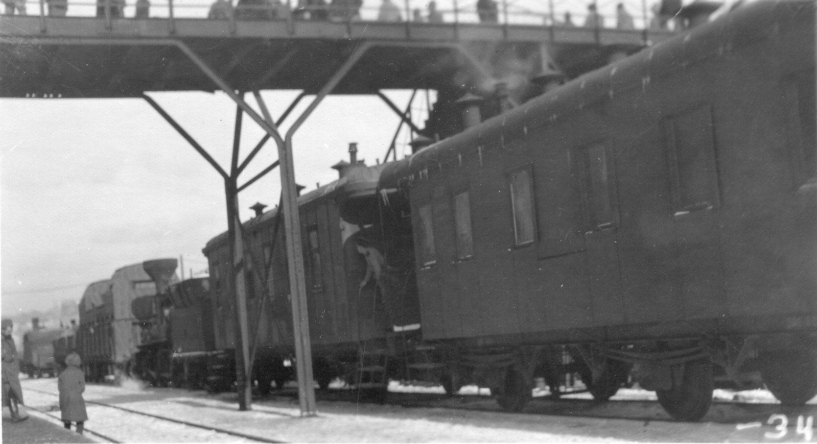 Захваченный поезд генерала Гайды