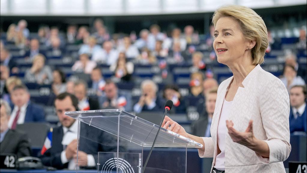 Ursula von der Leyen presents her vision to MEPs